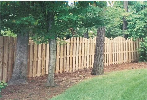backyard wood fence which privacy fence do you like better pics backyard