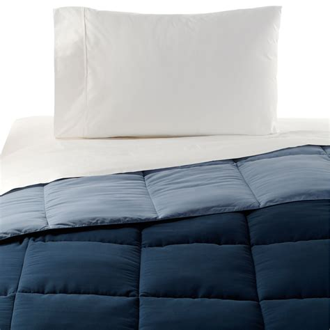 thick down alternative comforter cannon reversible microfiber down alternative comforter