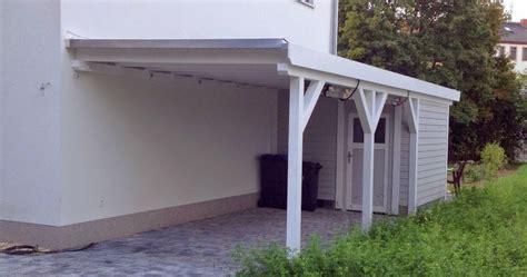 fertig carport hum s baublog carport fertig gestrichen