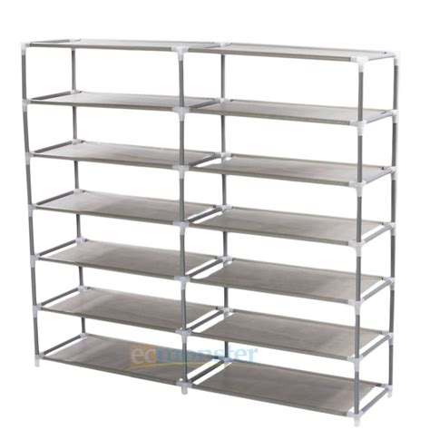 dustproof shoe rack 6 tier shoe tower rack cabinet
