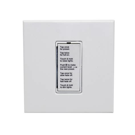 lightolier ohva  onset digital dimmer decora va  white ebay