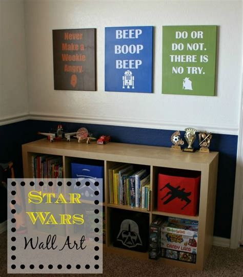 this star wars room is every boy s dream complete with 17 best ideas about star wars wall art on pinterest star