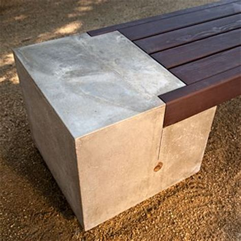wood and concrete bench 25 best ideas about concrete bench on pinterest