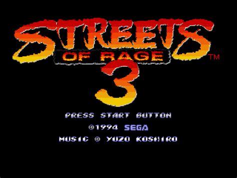 streets of rage 3 genesis streets of rage 3 europe rom