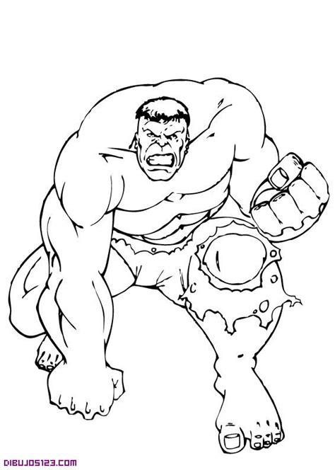 imagenes de hombres fuertes para colorear el increible hulk para colorear