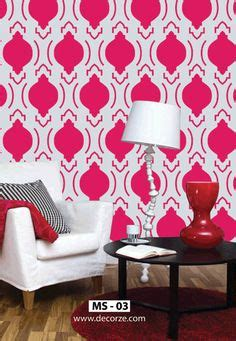 Living Room Stencils by 1000 Images About Moroccan Stencils On