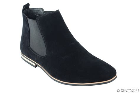 chelsea shoes mens suede chelsea boots italian style smart casual desert