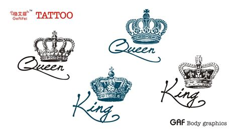 queen tattoo drawings king and queen tattoos google search love pinterest