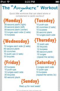 home workout plan lovely work out plans for women at home 7 weekly workout