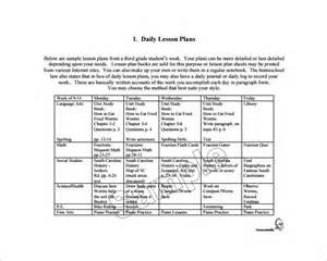 Daily Lesson Plan Template ? 9  Free Word, Excel, PDF