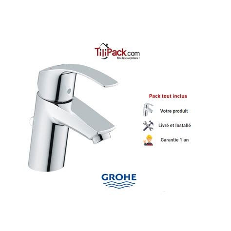 Robinet Grohe by Robinet Mitigeur Lavabo Grohe Eurosmart Et Pos 233 224 Prix