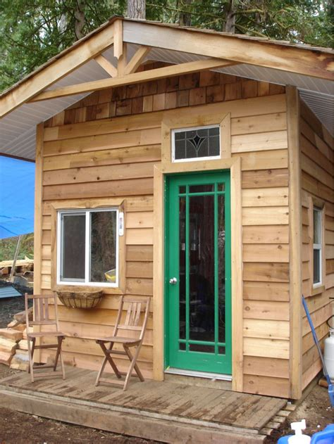 Shed Converted To Cabin by Pre Fab Shed Conversion Small Cabin Forum