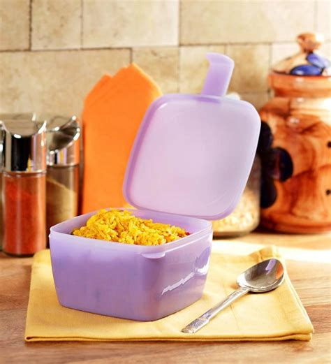 Tupperware Snack It 1pc Kecil Sekat tupperware 1 pc forget me not 500 ml by tupperware airtight storage kitchen dining