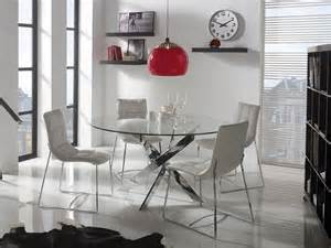 Dining Room Table White Legs Contemporary Glass Ruth Dining Table Choice Of