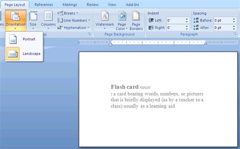 microsoft word index card template custom card template 187 word 3x5 index card template free