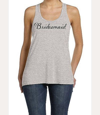 M05252 Tank Top Motif Flowy bridesmaid flowy racerback tank top bridesmaid gift