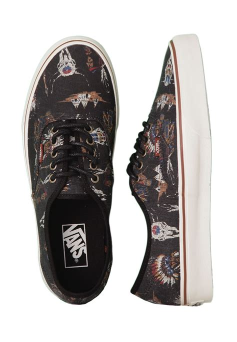 Vans Authentic Tribal vans authentic tribal leaders shoes impericon worldwide