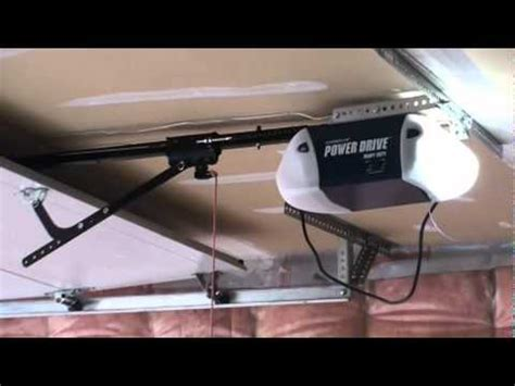 How To Install A Chamberlain Garage Door Opener by Chamberlain Garage Door Opener
