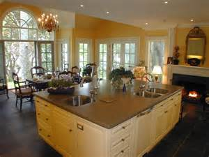 kitchen great room ideas choose the best country kitchen design ideas 2014 my