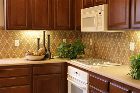 Inexpensive Kitchen Backsplash by Sheknows Entertainment Recipes Parenting Advice