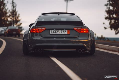 Audi A5 Tuning by Tuning Audi A5 Wideboby Rear