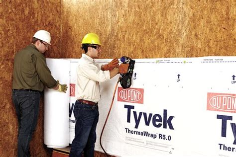 Dupont Launches Industry First Tyvek Thermawrap R5 0 Thermawrap Garage Door Insulation