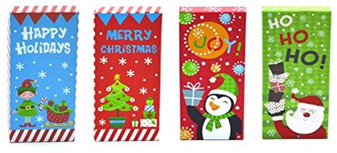 Check Money On Gift Card - christmas money check gift card holder boxes set of 4 ehouseholds com