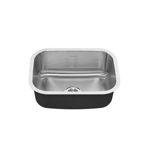 American Standard Stainless Steel Kitchen Sink American Standard Portsmouth Undermount Stainless Steel 23 In 0 Single Basin Kitchen Sink
