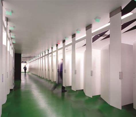 stadium bathrooms public stadium concert restroom led lighting system