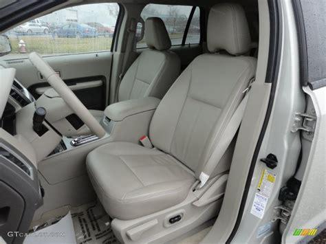 medium light stone interior  ford edge sel awd photo  gtcarlotcom