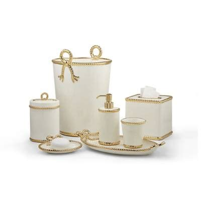 Frontgate Bathroom Accessories Labrazel Rope Gold Bathroom Accessories Frontgate