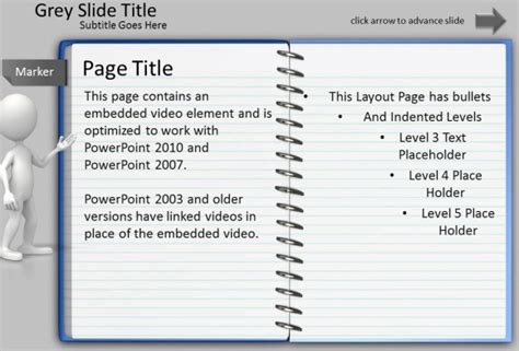 Animated Notepad Page Turn Effect For Powerpoint Presentations After Effects Page Turn Template Free