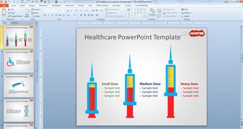 powerpoint design hospital free healthcare powerpoint template