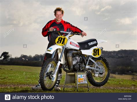 vintage motocross bikes twin shock vintage motocross rider mx dirt muddy with
