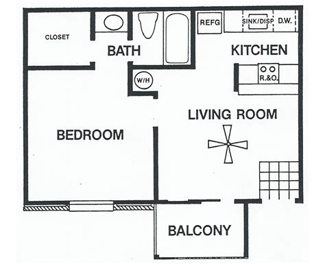 floor plan for one bedroom house floor plans one bedroom plan a sundance apartments