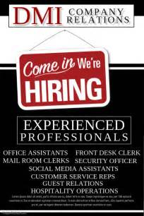 now hiring flyer template postermywall now hiring