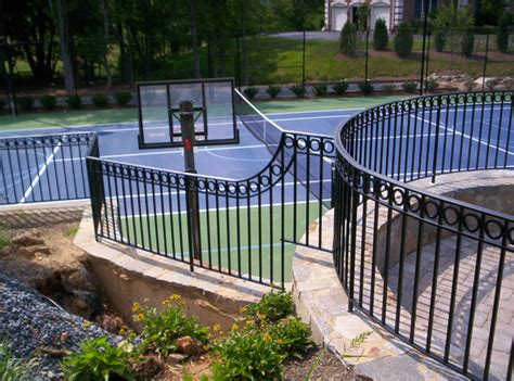 Decorative Iron Railing Panels by Hercules Fence Commercial Fencing And Ironworks Maryland Virginia Pennsylvania Delaware Dc