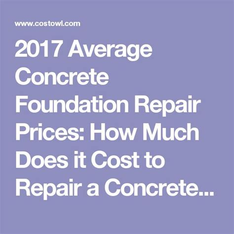 how much does it cost to repair garage best 25 foundation repair cost ideas on how to lay concrete build your own garage