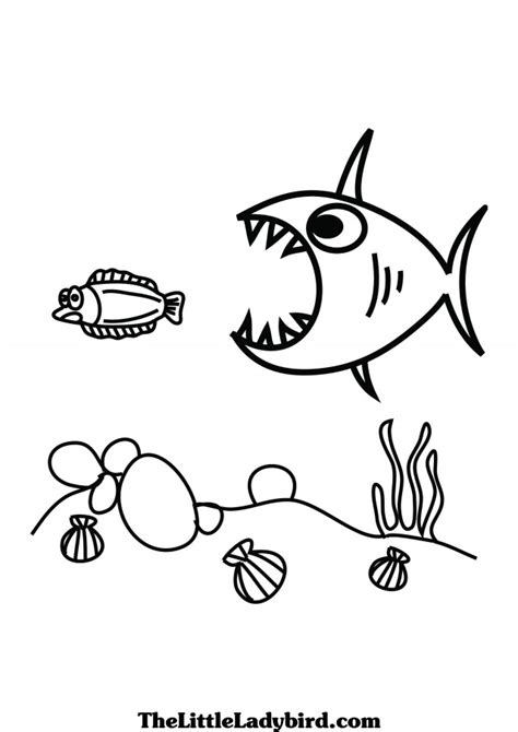 coloring page of small fish cute fish coloring pages az coloring pages