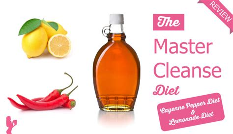 Detox Diet Lemon Juice Maple Syrup Cayenne Pepper by Cayenne Pepper Maple Syrup Diet Insomnia