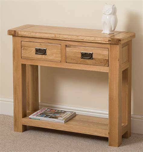 oak console table cottage light solid oak console table modern furniture