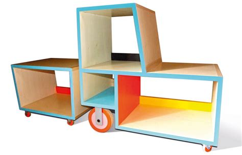 bibliotracteur a play furniture by charline pipard