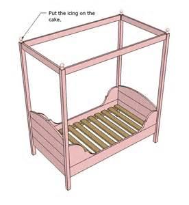 Toddler Bed Plans Toddler Bed Woodworking Plans Woodshop Plans