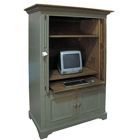 Desk Armoire Computer by Country Computer Armoire Cambridge Computer Armoire
