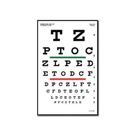 tavole di ishihara tavola optometrica quot snellen quot 23 x 35 5 6 1 m eurosanitas