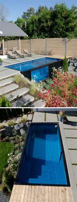 a swimming pool made from a shipping container home design garden amp architecture blog magazine
