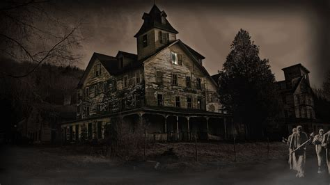 x haunted house haunted house wallpaper 793459