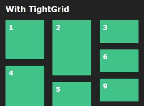 javascript based layout inline block based fluid grid layout plugin for jquery