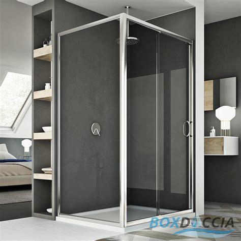 anta doccia cristallo box doccia 1 anta scorrevole apertura frontale vetro