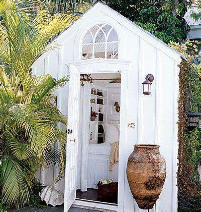 summer house garden sheds backyard retreats gardens